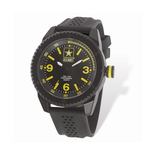US Army Wrist Armor C20 Black/Yellow Watch Pineforest Jewelry, Inc. Houston, TX