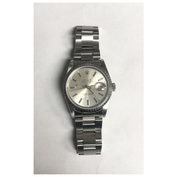 Gents SS Rolex DateJust Silver Dial Circa:1989 Pineforest Jewelry, Inc. Houston, TX