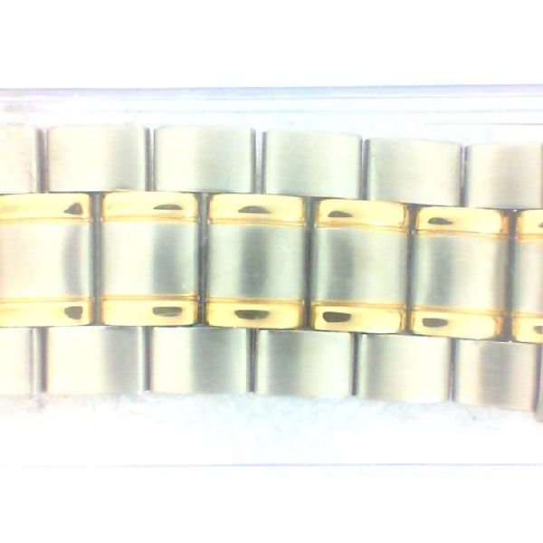 20-26MM Wide TT IP Gold Plated Watch Band Pineforest Jewelry, Inc. Houston, TX