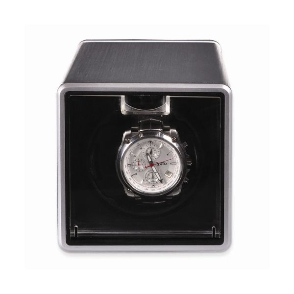 Rotations Silver Metal Single Watch Winder Pineforest Jewelry, Inc. Houston, TX