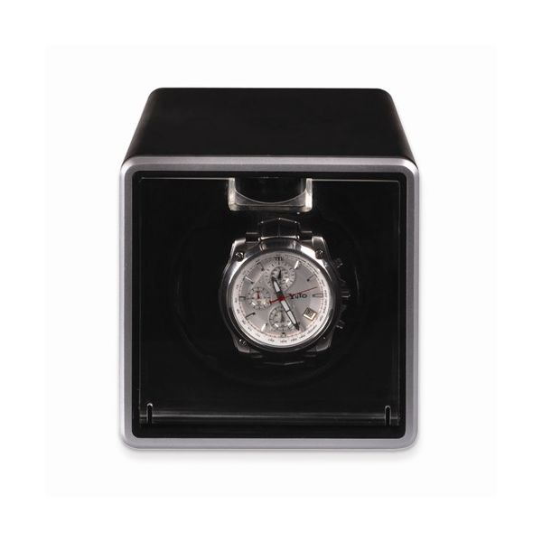 Rotations Black Metal Single Watch Winder Pineforest Jewelry, Inc. Houston, TX