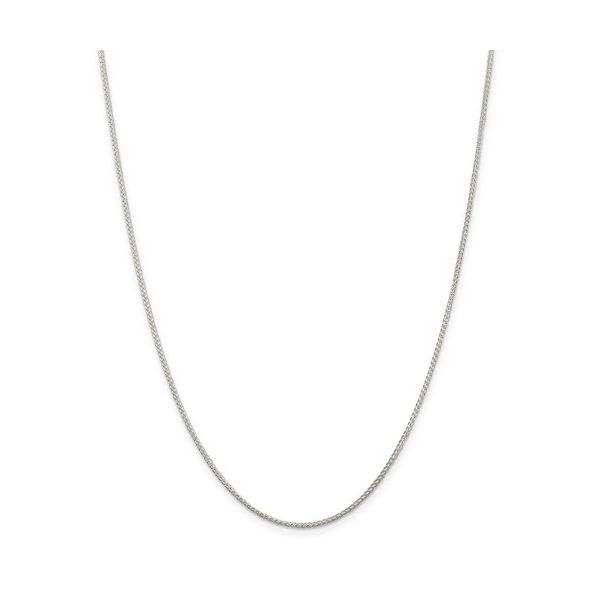 Sterling Silver 1.25mm Round Spiga Necklace Pineforest Jewelry, Inc. Houston, TX