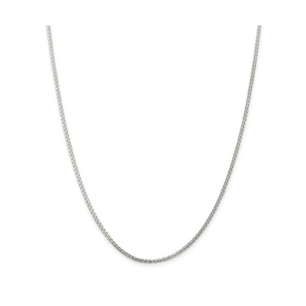 Sterling Silver 1.75mm Round Spiga Chain 22in Pineforest Jewelry, Inc. Houston, TX