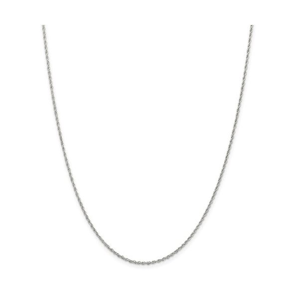 Sterling Silver 1.6mm Loose Rope Chain 18in Pineforest Jewelry, Inc. Houston, TX