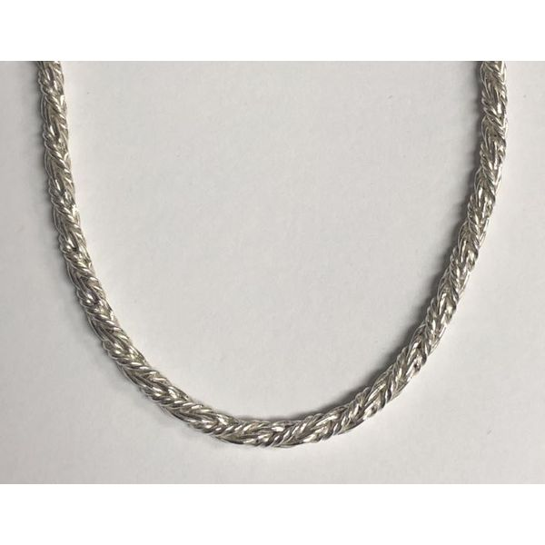 SS Woven Rope Chain Pineforest Jewelry, Inc. Houston, TX