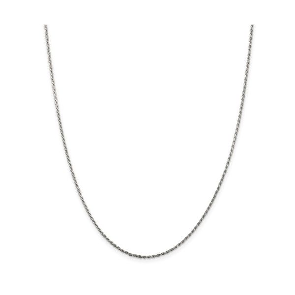 Sterling Silver 1.5mm Diamond-Cut Rope Chain Pineforest Jewelry, Inc. Houston, TX