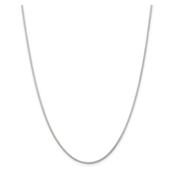 Sterling Silver 1.25mm Round Spiga Chain 20in Pineforest Jewelry, Inc. Houston, TX