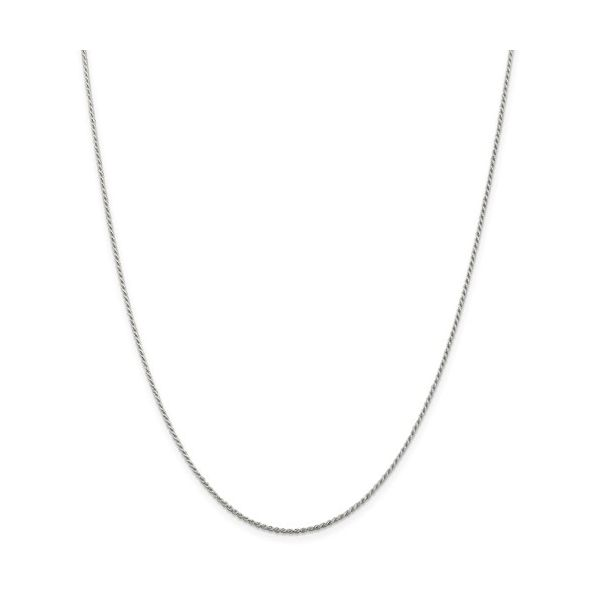 Sterling Silver Diamond-Cut Rope Chain Pineforest Jewelry, Inc. Houston, TX