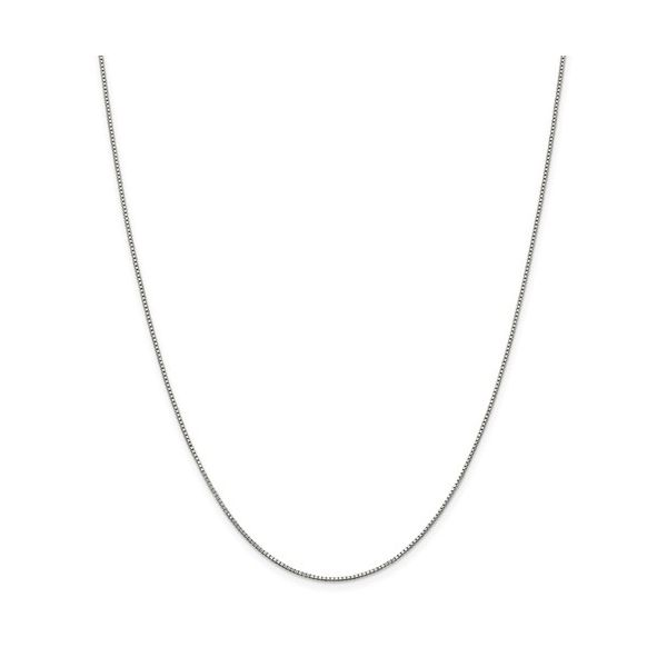 Sterling Silver .9mm Box Chain 22in Pineforest Jewelry, Inc. Houston, TX
