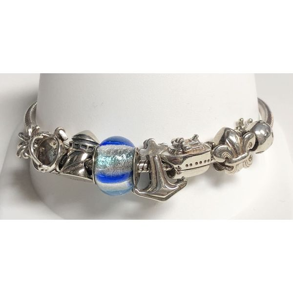 SS Nautical Reflections Bracelet Pineforest Jewelry, Inc. Houston, TX