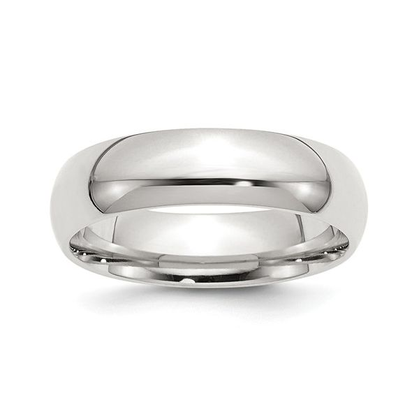 Sterling Silver 6mm Comfort Fit Band Size: 12 Pineforest Jewelry, Inc. Houston, TX