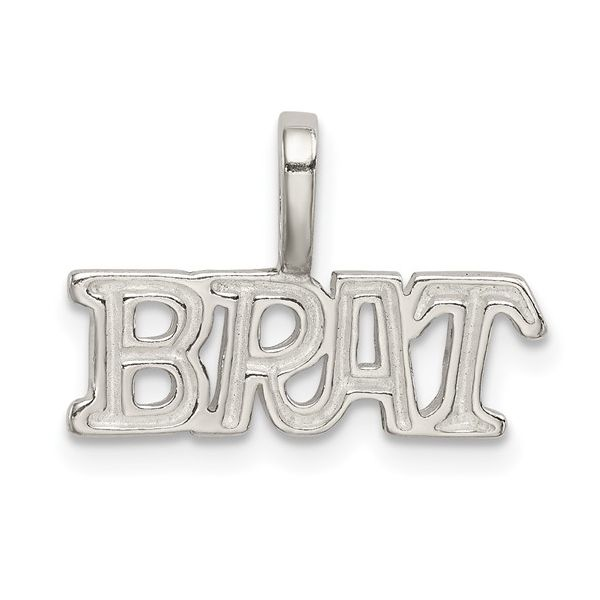 Silver Brat Pendant Pineforest Jewelry, Inc. Houston, TX