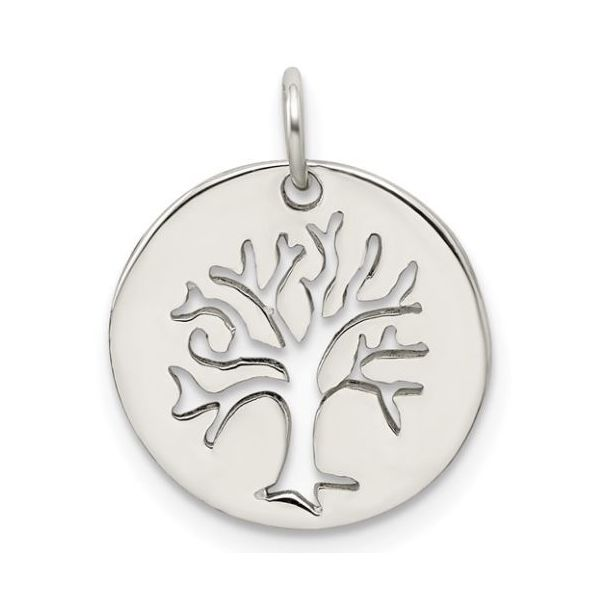 Sterling Silver Tree Charm Pineforest Jewelry, Inc. Houston, TX