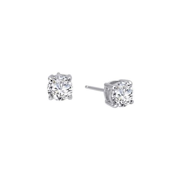 SS Lassaire Stud Earring Pair Pineforest Jewelry, Inc. Houston, TX