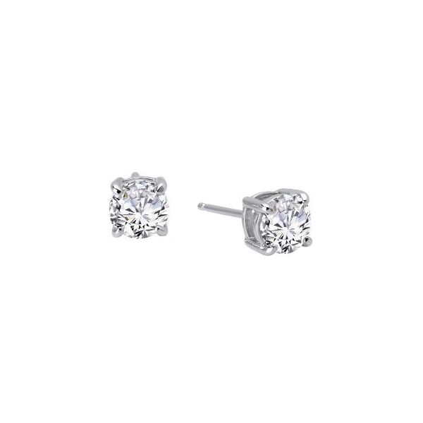 SS CZ Earrings Pineforest Jewelry, Inc. Houston, TX