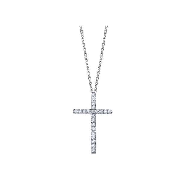 SS Lafonn Lassaire Cross Necklace Pineforest Jewelry, Inc. Houston, TX