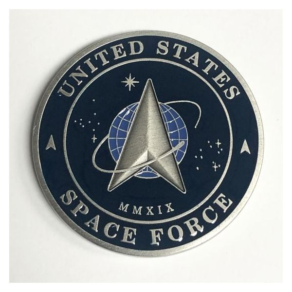United States Space Force Challenge Coin Pineforest Jewelry, Inc. Houston, TX