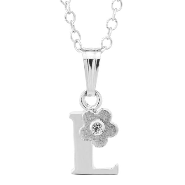 SS Initial Diamond Flower
