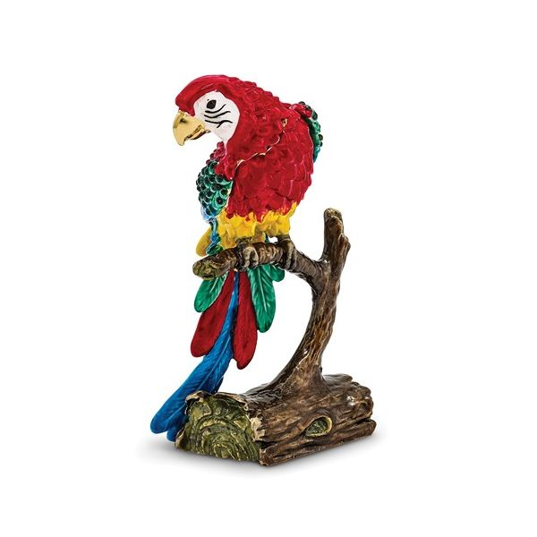 Bejeweled Gold Nose Parrot Trinket Box Pineforest Jewelry, Inc. Houston, TX