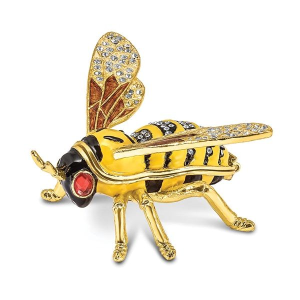 Bejeweled BUZZ Bumblebee Trinket Box Pineforest Jewelry, Inc. Houston, TX