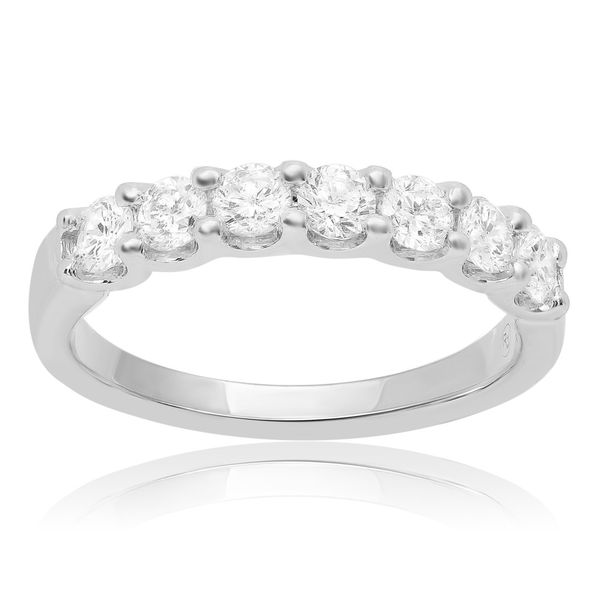 Diamond Band Image 2 P.J. Rossi Jewelers Lauderdale-By-The-Sea, FL