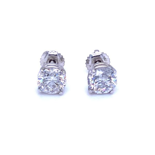 Diamond Stud Earrings P.J. Rossi Jewelers Lauderdale-By-The-Sea, FL