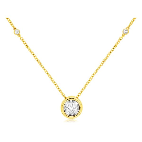 Diamond Necklace P.J. Rossi Jewelers Lauderdale-By-The-Sea, FL