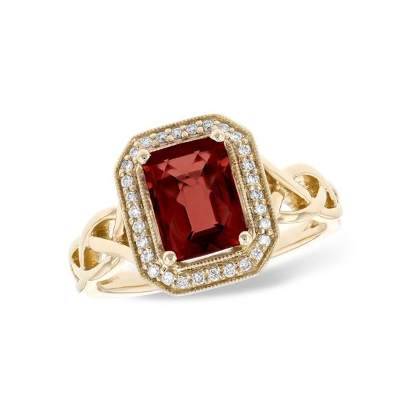 Ladies Gemstone Ring P.J. Rossi Jewelers Lauderdale-By-The-Sea, FL