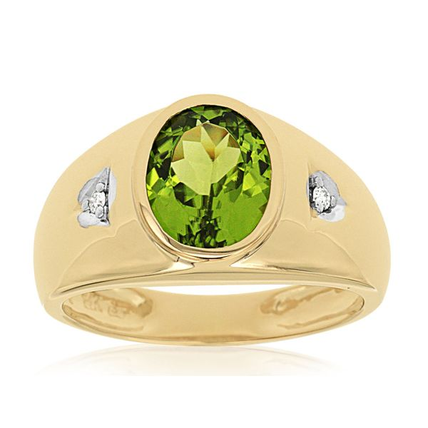 Mens Gemstone Ring P.J. Rossi Jewelers Lauderdale-By-The-Sea, FL