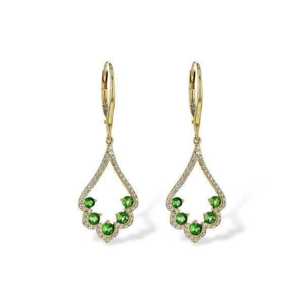 Allison Kaufman Gemstone Earrings P.J. Rossi Jewelers Lauderdale-By-The-Sea, FL