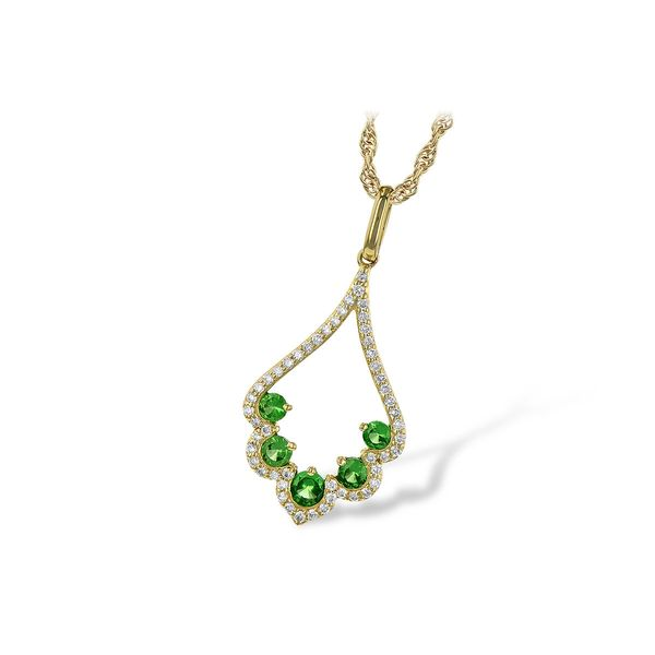 Allison Kaufman Gemstone Necklace P.J. Rossi Jewelers Lauderdale-By-The-Sea, FL