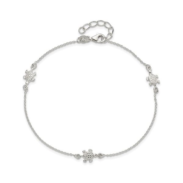 Silver Anklet P.J. Rossi Jewelers Lauderdale-By-The-Sea, FL