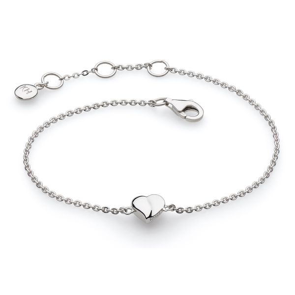 Sterling Silver Miniature Sweet Heart Bracelet Quality Gem LLC Bethel, CT