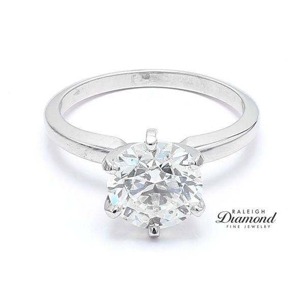 RapNet 2.51ct Solitaire Diamond Engagement Ring Raleigh Diamond Raleigh, NC