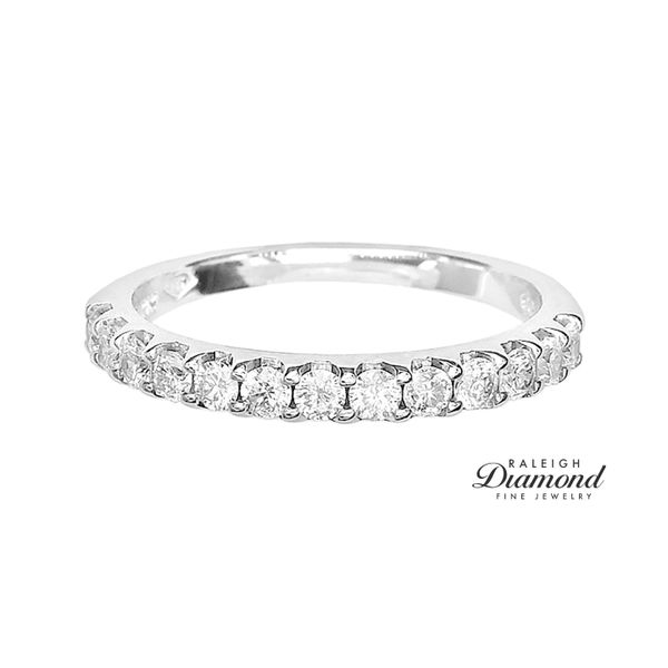 Estate 14k White Gold 1/2ctw Diamond Band Raleigh Diamond Raleigh, NC