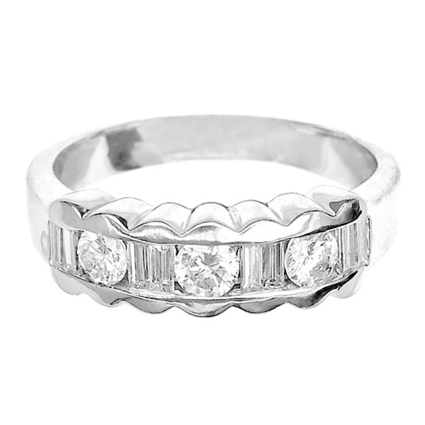 Estate Platinum 4/5CTW Diamond Band Raleigh Diamond Raleigh, NC