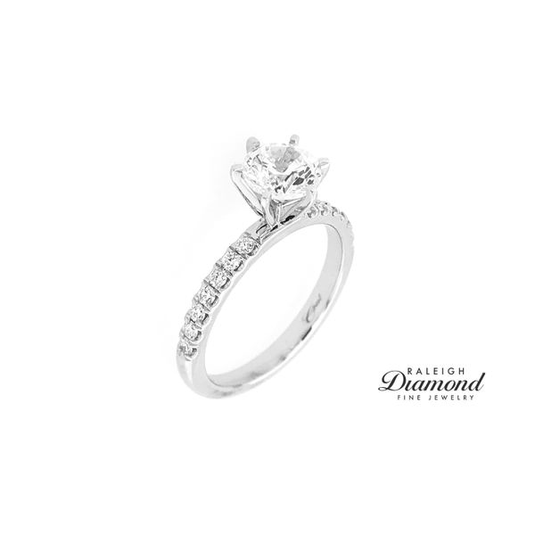 Coast Fishtail Set 0.24cttw Diamond Semi Mount Ring Image 2 Raleigh Diamond Raleigh, NC