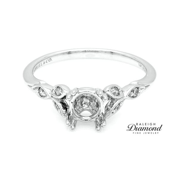 Gabriel New York Vintage Style Semi-mount Engagement Ring Raleigh Diamond Raleigh, NC