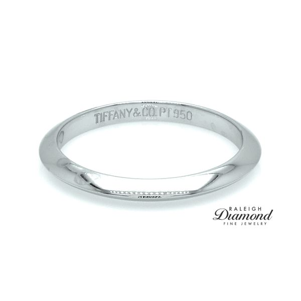 Tiffany and Co Platinum Wedding Band Image 2 Raleigh Diamond Raleigh, NC