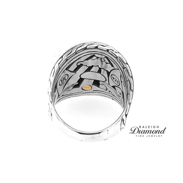 John Hardy Palu Ring in Silver and 18k Yellow Gold Image 4 Raleigh Diamond Raleigh, NC