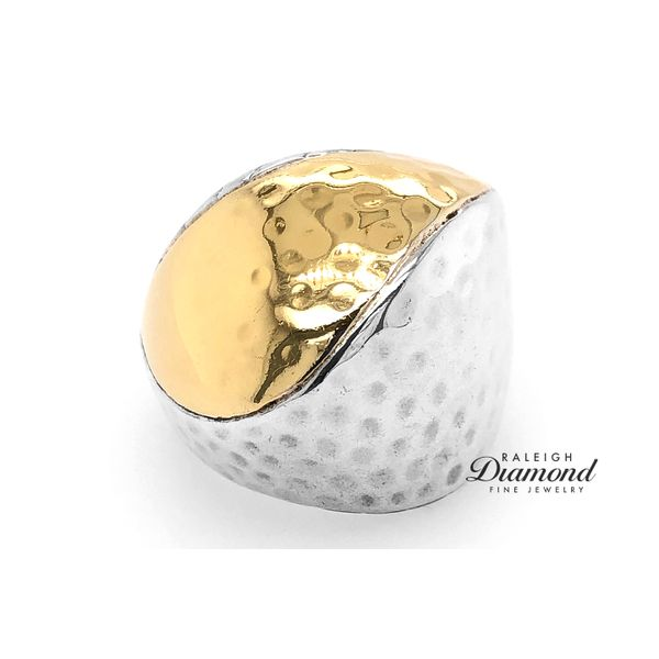 John Hardy Palu Ring in Silver and 18k Yellow Gold Raleigh Diamond Raleigh, NC