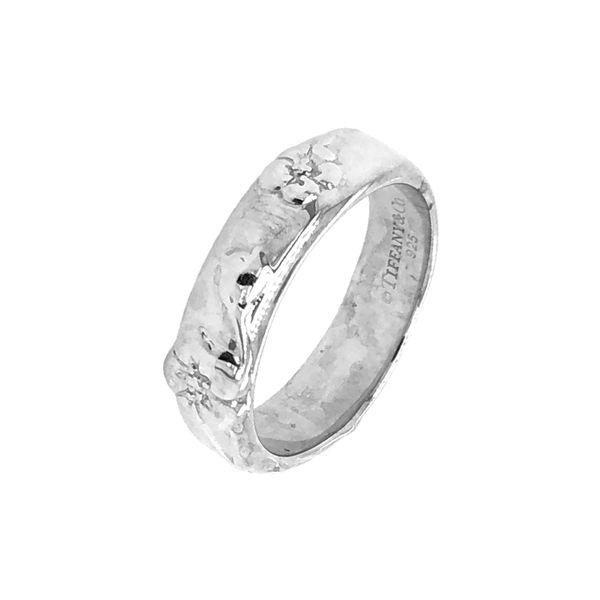Tiffany and Co. Rose Sterling Silver Ring Image 2 Raleigh Diamond Raleigh, NC