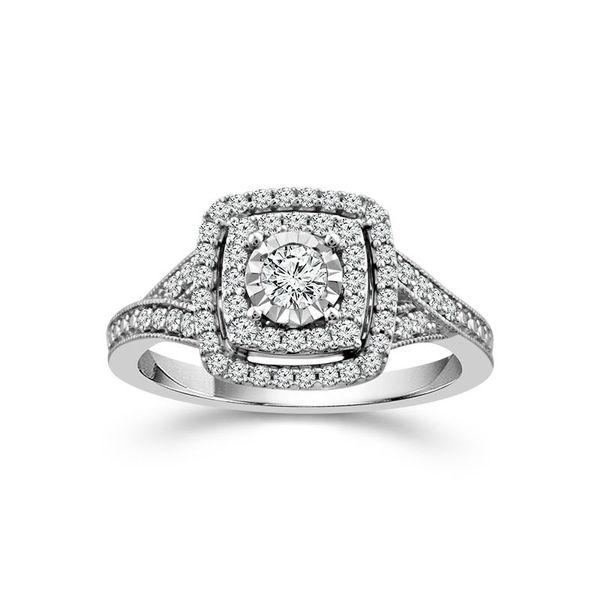 1/2 Carat Diamond Engagement Ring Robert Irwin Jewelers Memphis, TN