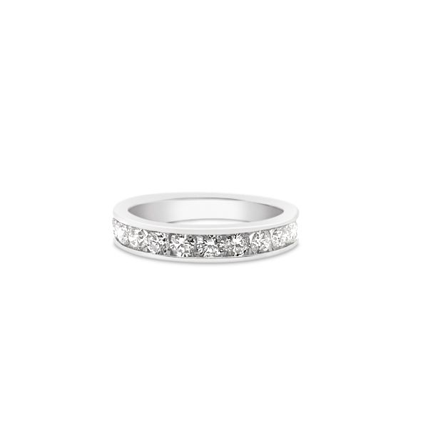 14k White Gold 0.25ctw RIJ89 Diamond Wedding Band Robert Irwin Jewelers Memphis, TN