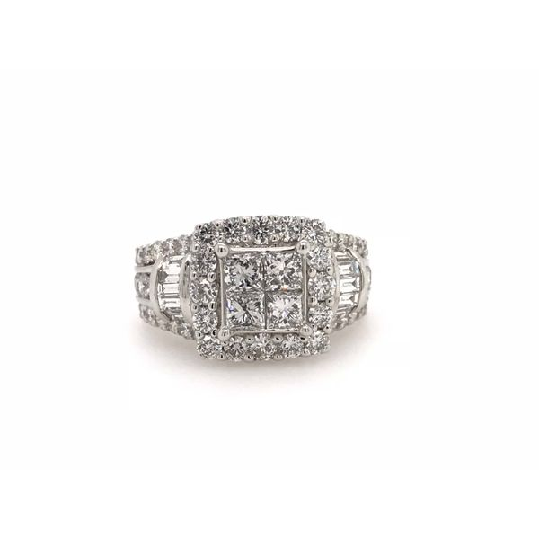 3 Carat Diamond Wedding Set Robert Irwin Jewelers Memphis, TN