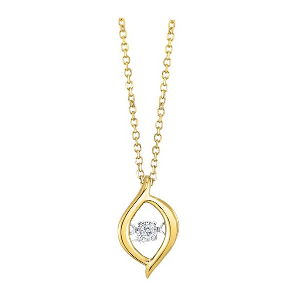 10k Yellow Gold 0.02ctw Diamond Pendant Robert Irwin Jewelers Memphis, TN