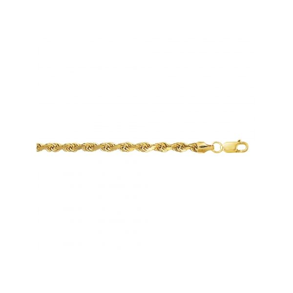 10k Yellow Gold 20 Inch 4MM Rope Chain Robert Irwin Jewelers Memphis, TN