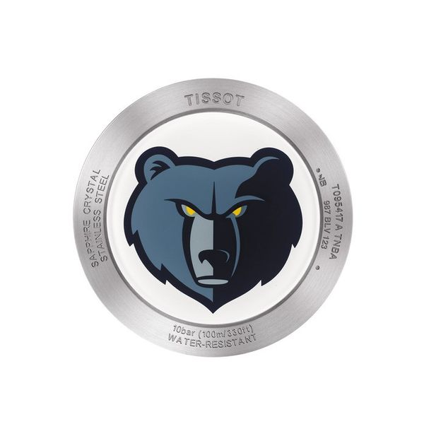 Tissot Quickster NBA Memphis Grizzlies Men's Image 2 Robert Irwin Jewelers Memphis, TN
