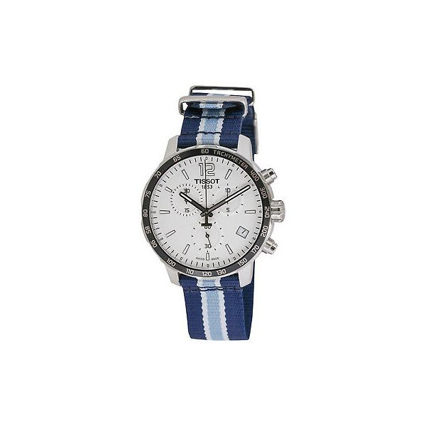 Tissot Quickster NBA Memphis Grizzlies Men's Robert Irwin Jewelers Memphis, TN