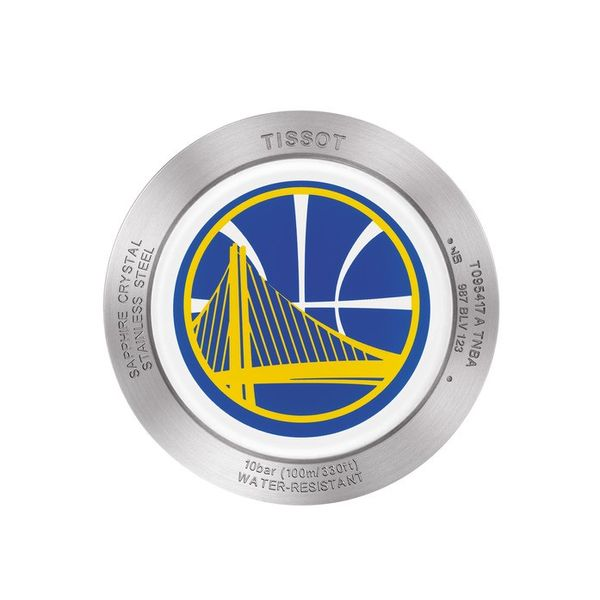 Tissot Quickster Golden State Warriors Chronograph Men's Watch Image 2 Robert Irwin Jewelers Memphis, TN